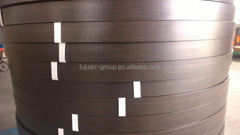 environment protection wood grain high quality 2mm thickness pvc door edge banding