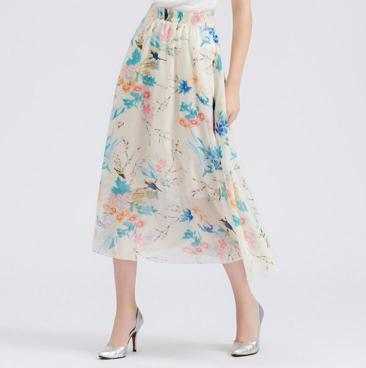 7b7032f82 Venta al por mayor faldas largas juveniles-Compre online los mejores ...