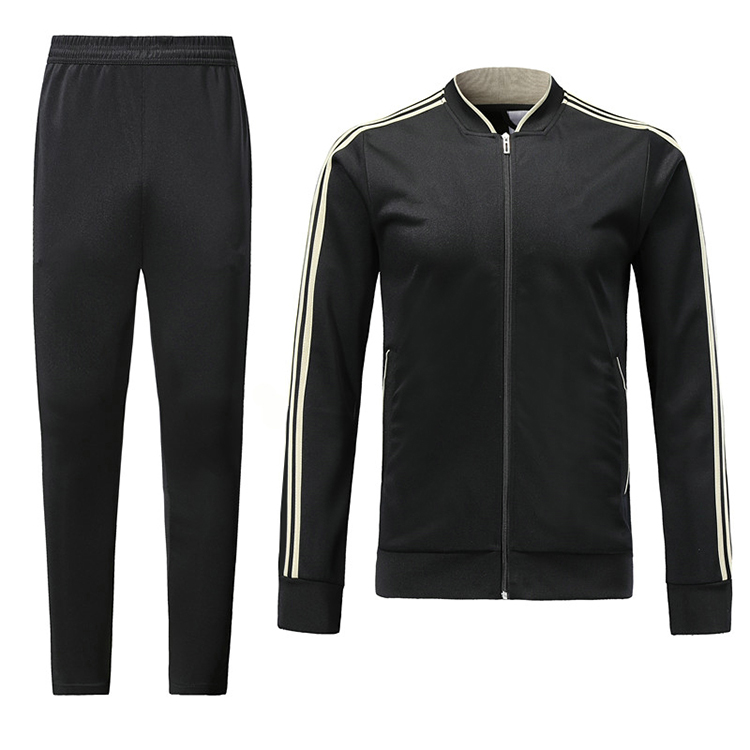 Custom 100% Polyester Training Windproof Mens Tracksuit/ Sports Track Suit