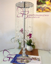 table stand centerpiece - crystal diameter ball with the stand pole for event wedding decor