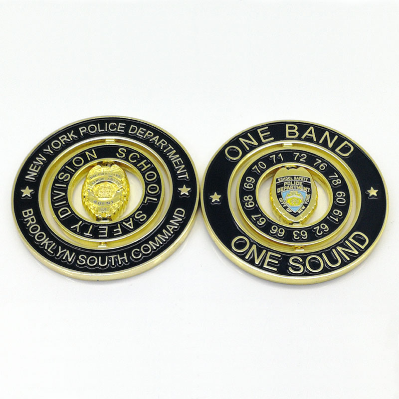 Top quality promotional items custom design metal enamel Challenge Coin