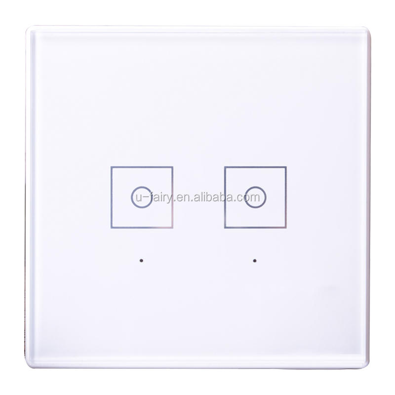 Europe Two Gang Two Way Wall Switch With Light - Buy High Quality ...