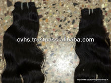 Silky & Smoothy Hair unprocessed ordorless natural color wholesale virgin indian hair, Indian hair weft