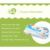 Organic alcohol free nonwoven wet tender baby water wipes