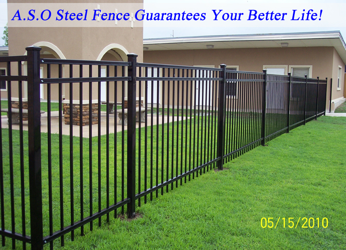 Portable Aluminum Fencing : Portable dog fence no dig galvanized square