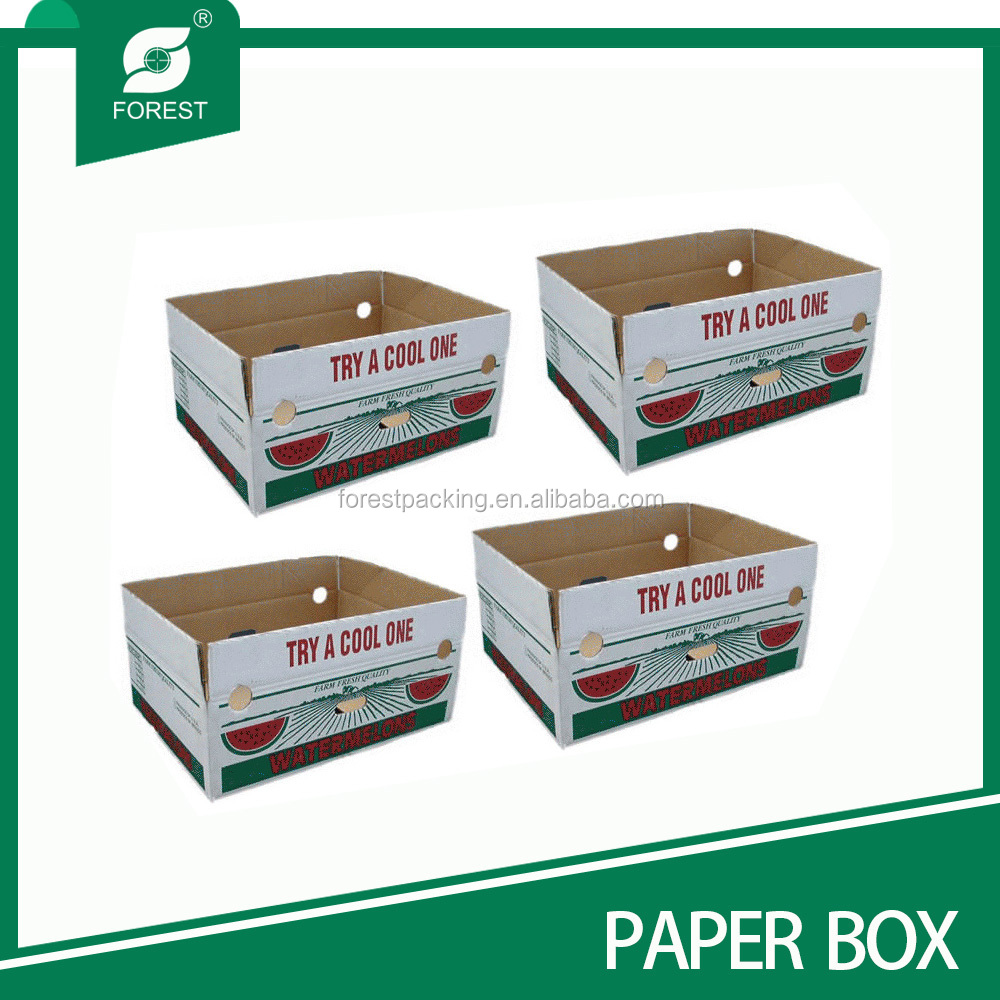 WAXED DIPPED CORRUGATED YAM CARTONS FP110776