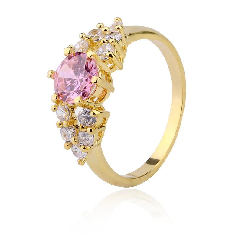 Top sale latest design 24 carat gold wedding rings jewelry women