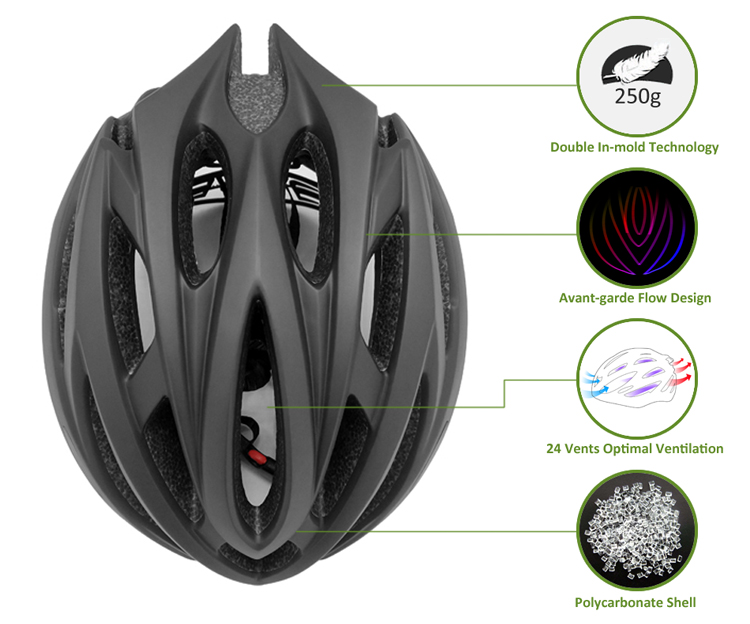 Manufacturer Direct Bicycle Helmet Adult Road Bike Helmet 7