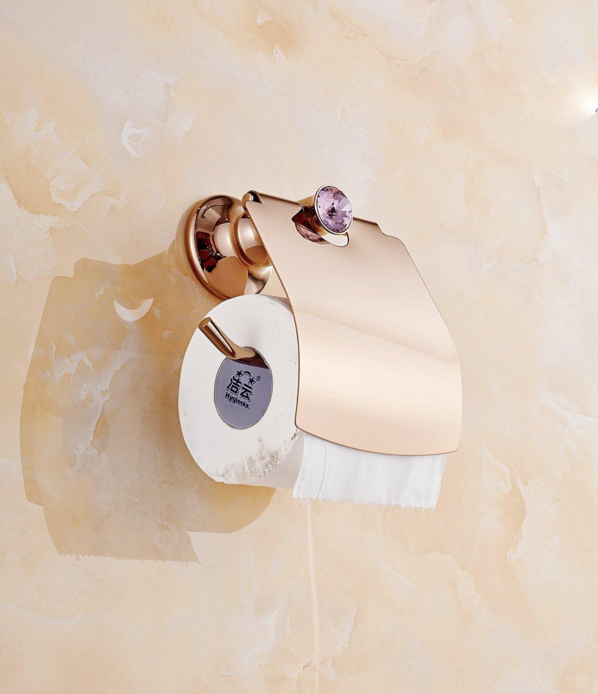 Buy AUSWIND Contemporary Rose Gold Polished Purple Diamond Solid ...