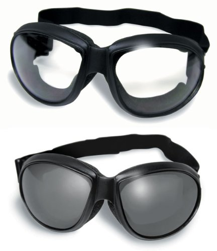 Red Baron Motorcycle/aviator Goggles Day Night