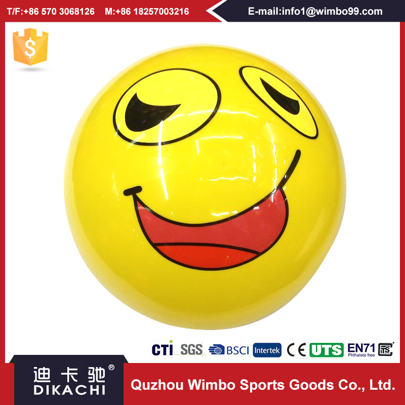 High quality Kid Toys Decal Colors Ball Inflated
