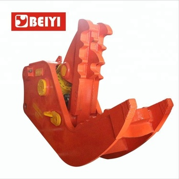 Easy and Simple to Handle hydraulic pulverizer machine concrete demolition machine with large sawtooth
