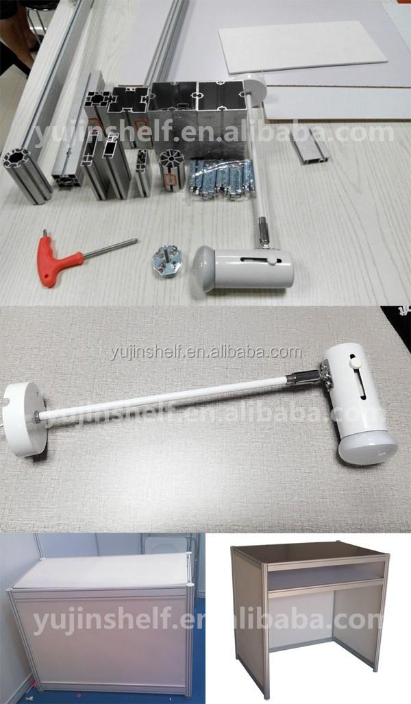 Aluminio Pvc Estándar Cabina Material Aluminio Diseño Stand 3x3 ...