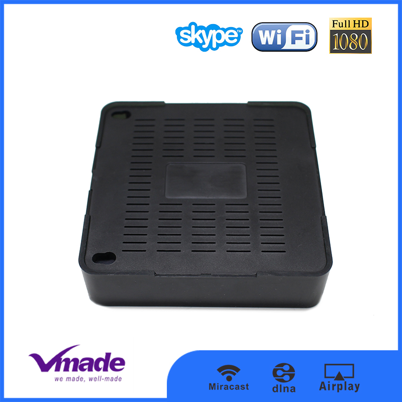 SHENZHEN factoty price new product Android smart tv box H3 Quad Core have full hd video download