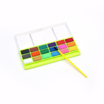 Pigment Cake Painting Tool, Watercolor Paint Set