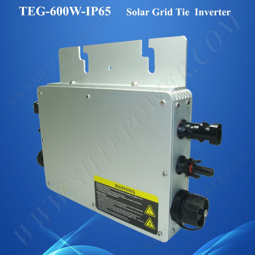 Easy Installation Mppt 24v 48v Grid Tie Micro Control Power Inverter ...