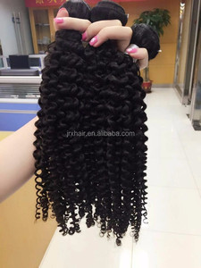 fashional trend best selling products grade 7a virgin brazilian hair steam processed no smell curly human hair extension