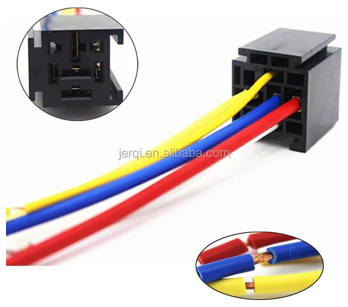 V A Pin Automobile Relay Socket Buy V A Pin Automobile - 5 pin relay socket
