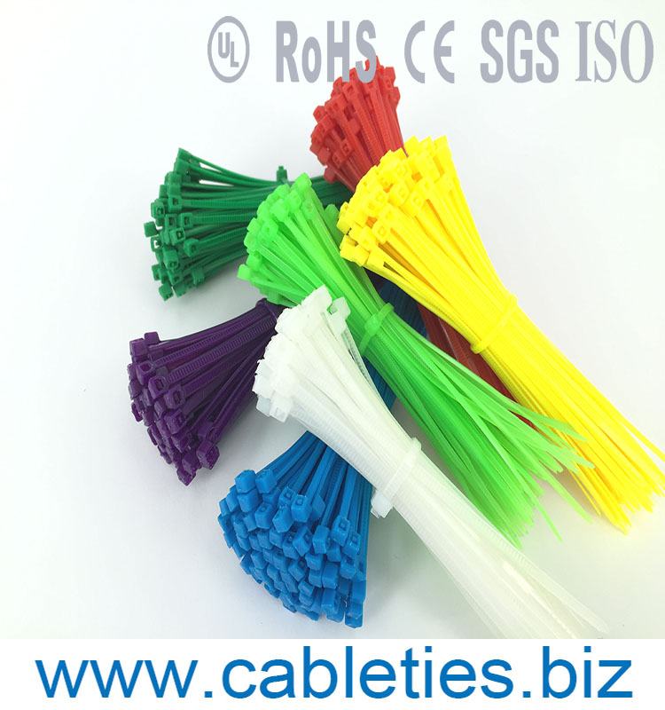 4.8*200mm nylon self-locking cable ties Zip tie