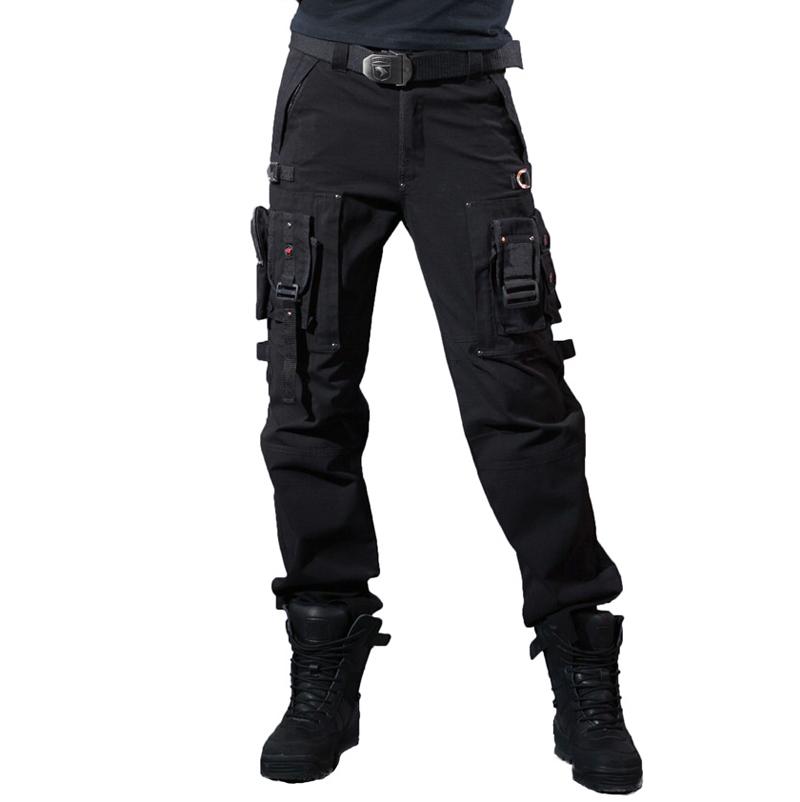 black tactical cargo pants - photo #40