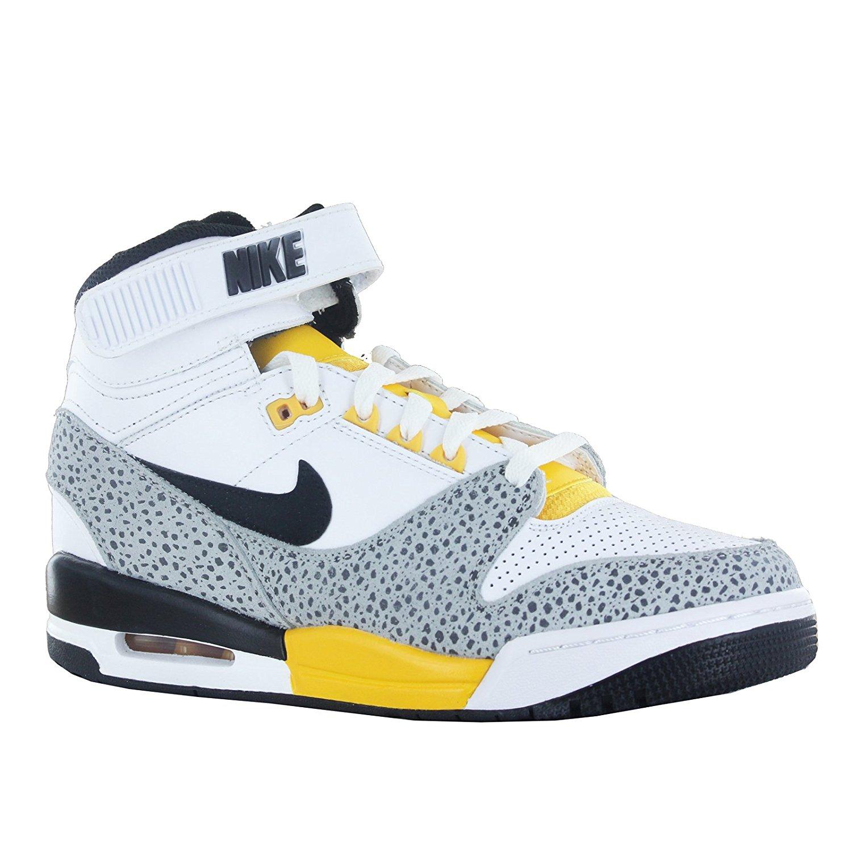 Nike Mens Air Revolution 7 M US White/Black/Grey/University Gold