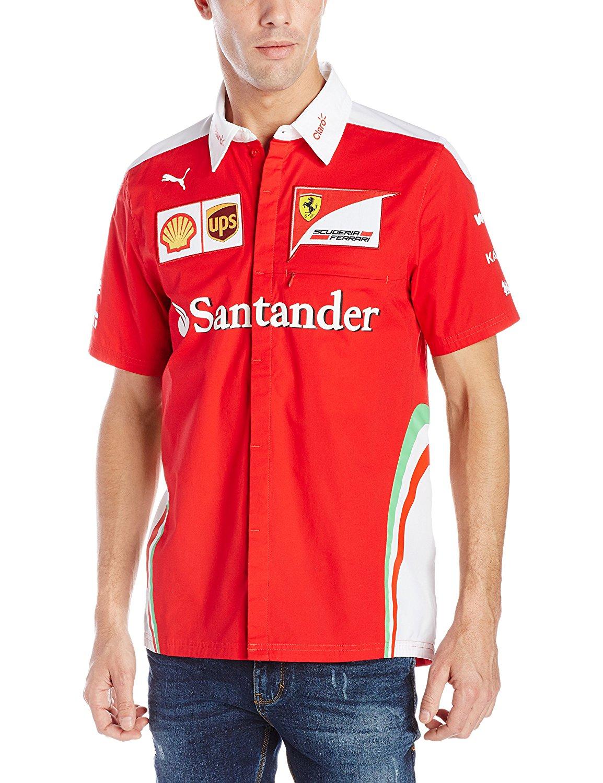 d0404baed03d Scuderia Ferrari Team Crew Shirt 2016