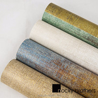 The non woven wall paper of vintage wallpaper TV wall wallpaper wholesale for KTV bars coffee