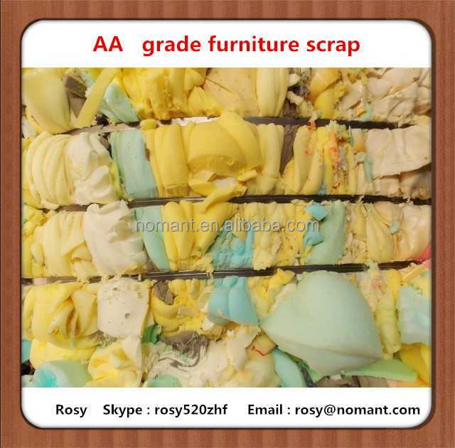 High density waste pu foam scraps for Kuwait