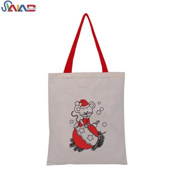 Christmas Cotton Reusable Fabric Holiday Gift Bags - Buy Christmas ...