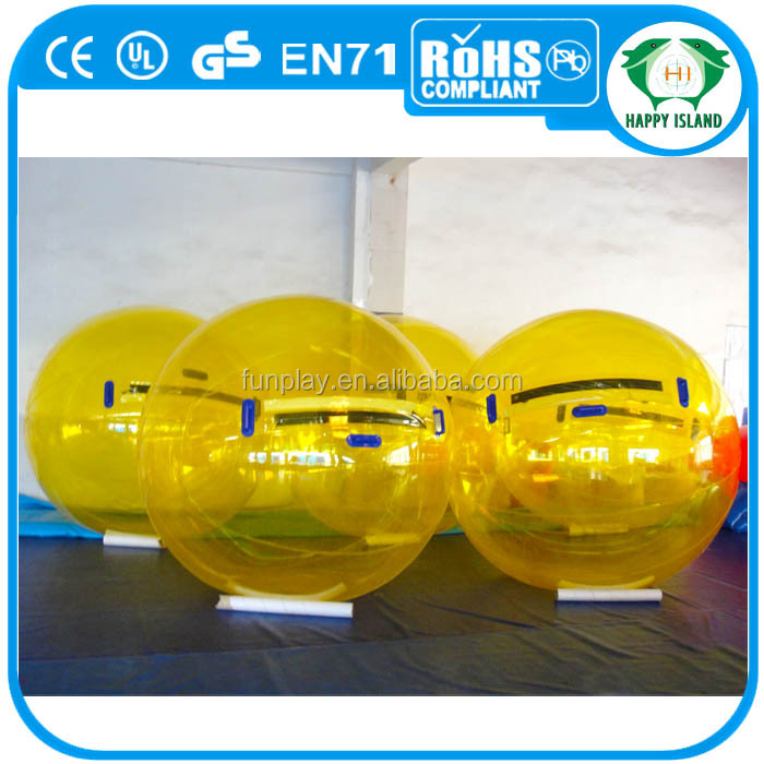 Hot sale Gemany zipper water ball,water walking ball,water balls pictures