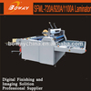 Pre-coated thermal film lamination Large format Semi-auto laminating machine