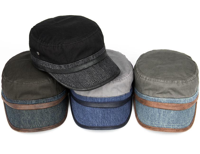 96577d33768 Get Quotations · Tenji short brim hat outdoor cap cadet cap fashion  personality paragraph breathable military hat
