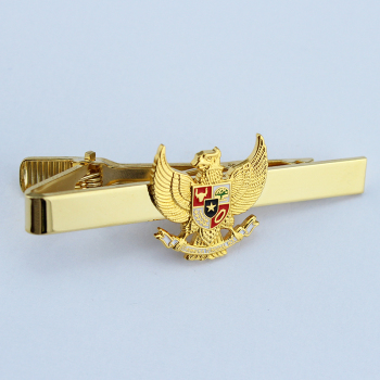 Custom metal crafts eagle badge cufflinks fashion badge tie clip
