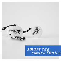 Hot selling cheap RFID QR code nfc pet tracking dog tag