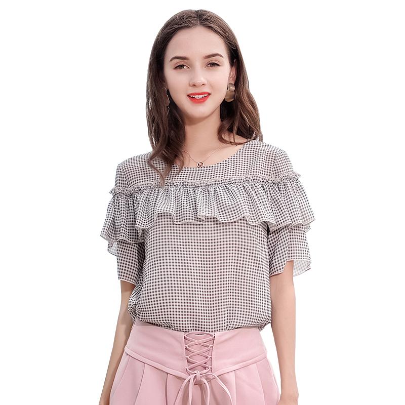 e086164f0 مصادر شركات تصنيع تصميم الأزياء سيدة الجولة العنق بلوزة وتصميم الأزياء سيدة  الجولة العنق بلوزة في Alibaba.com