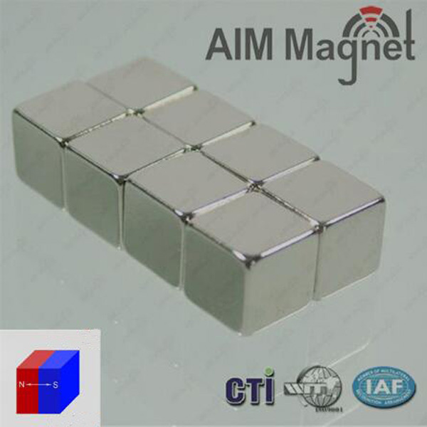 Strong force neo NdFeB rectangular block magnets N40 N42 N50 N52
