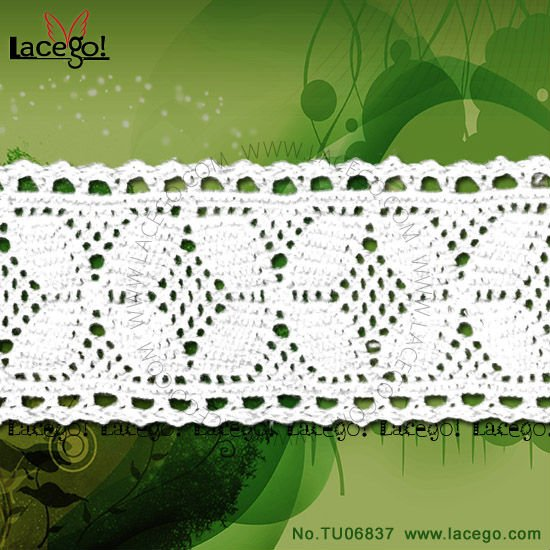 Knitted Trimming Cotton Lace in lacego