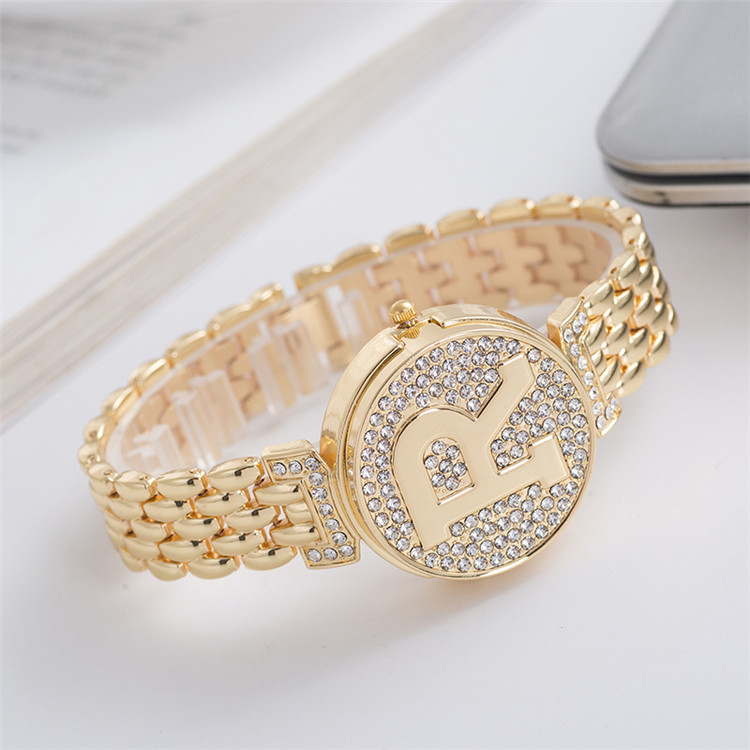 Watch For Women Unique Dial Quartz Fashion Ladies Elegant Watch