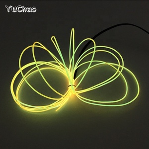 2019 3M 1.3mm New Brand Dance dress decorative LED Neon glowing light Blinking EL wire With Trendy Holiday Lighting Toys