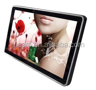 Hot 26 inch Wireless digital advertising screen video player Usb flash display for bus hotel elevator advertising
