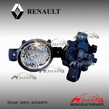renault symbol противотуманки лампочка