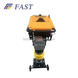 5.5hp power tamping rammer construction impacting vibrating tamper machine