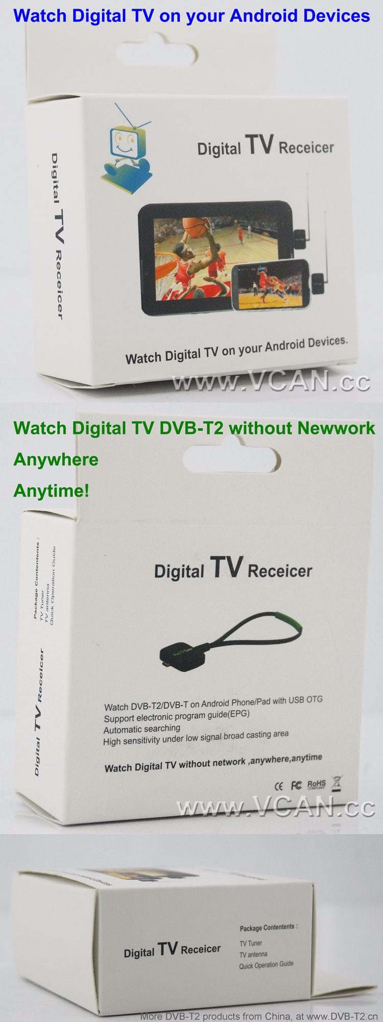 Apk Pad Tv Tuner Dvb-t2s Android Mini Usb Tv Tuner Dvb-t Dvb-t2 Tv Tuner  Receiver For Android Tablet - Buy Apk Pad Tv Tuner,Android Mini Usb Tv