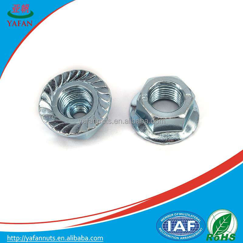 Din 9623 China Suppliers Stainless Steel Hex Flange Nuts On ...