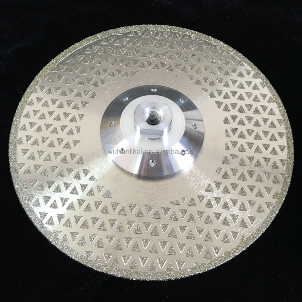 new style hot item electroplated grinding diamond cutting disc