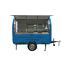 Best Selling food car caravan trailer mobile kitchen van for sale
