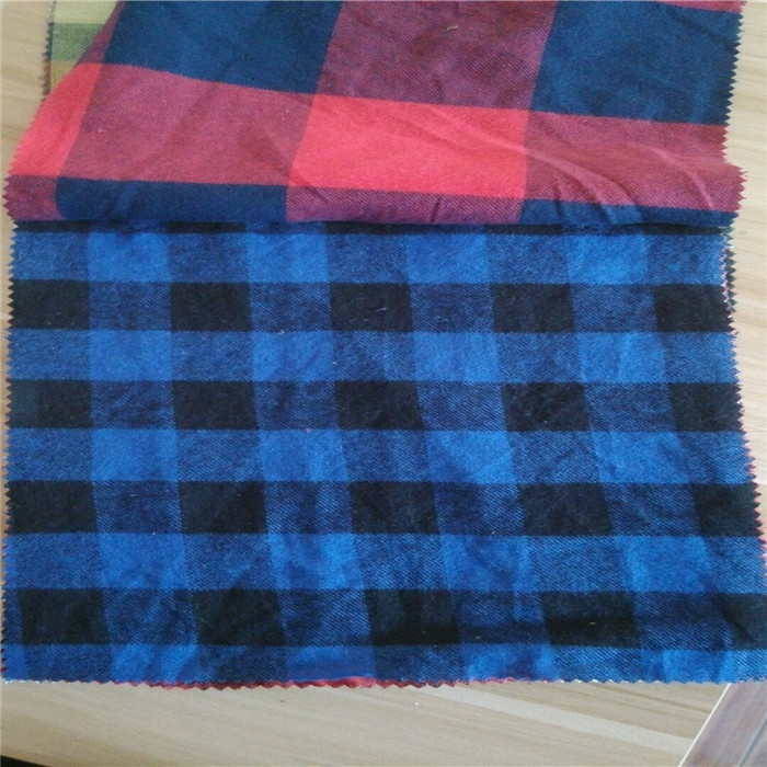 cheap price100% cotton 40*42 printed soft flannel fabric textile 100% Cotton Brushed Yarn Dyed Fabric/Yarn Dyed Flannel