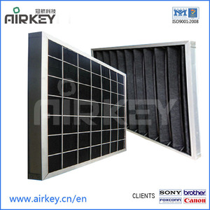 supply washable activated carbon filter from Airkey