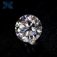D color 6.5mm Round Moissanite Loose White Moissanite Diamond