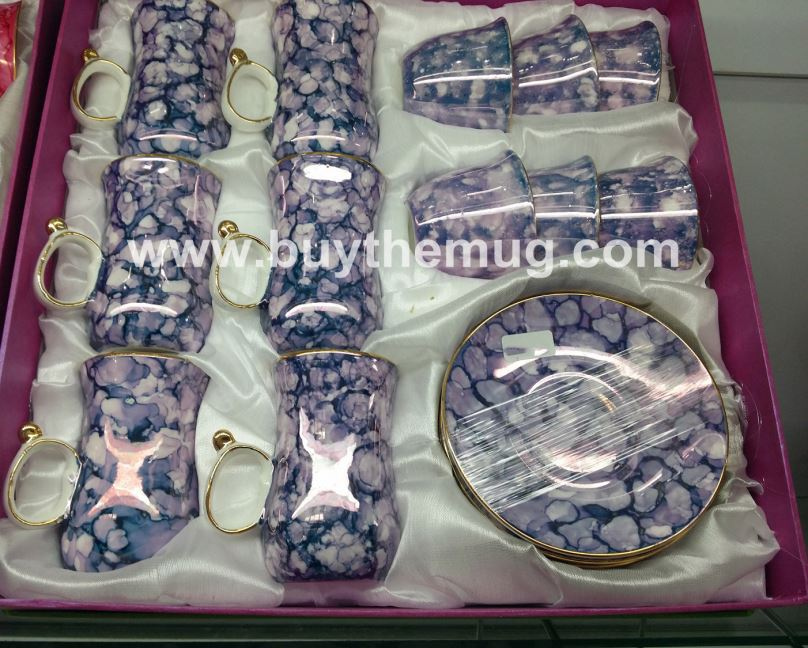 China Wholesale Arabic Cawa Tea And Coffee Porcelain Set